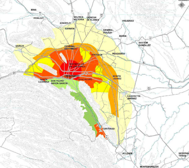 Programa Estadual de Desenvolvimento Urbano de Nuevo León 2030, México