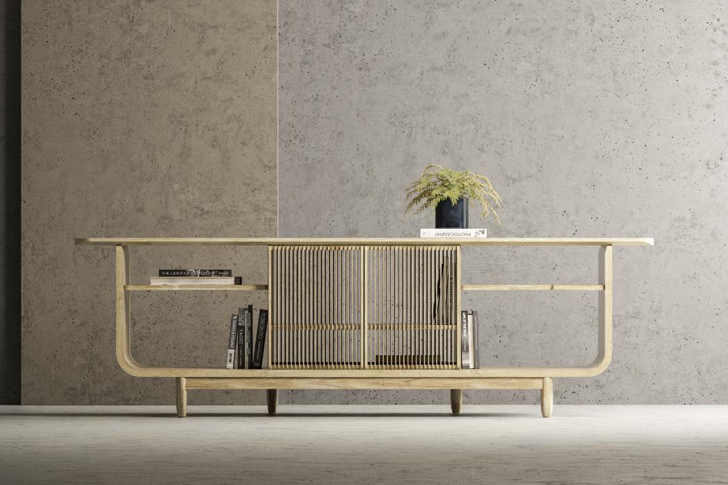 Arquitetos Brasileiros - Desing de Mobiliário - Projeto Buffet Rolls, Andrés Parallada