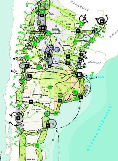PROJETOS TURÍSTICOS PLANO FEDERAL TURISMO SUSTENTÁVEL ARGENTINA